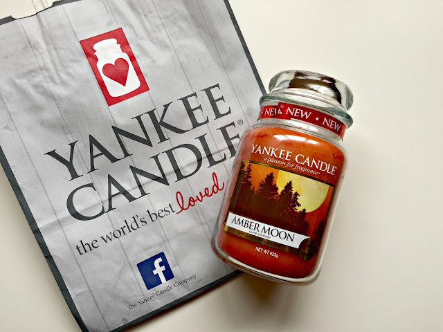 yankee candle amber moon