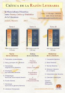 Crítica de la Razón Literaria - Edición impresa en 3 tomos
