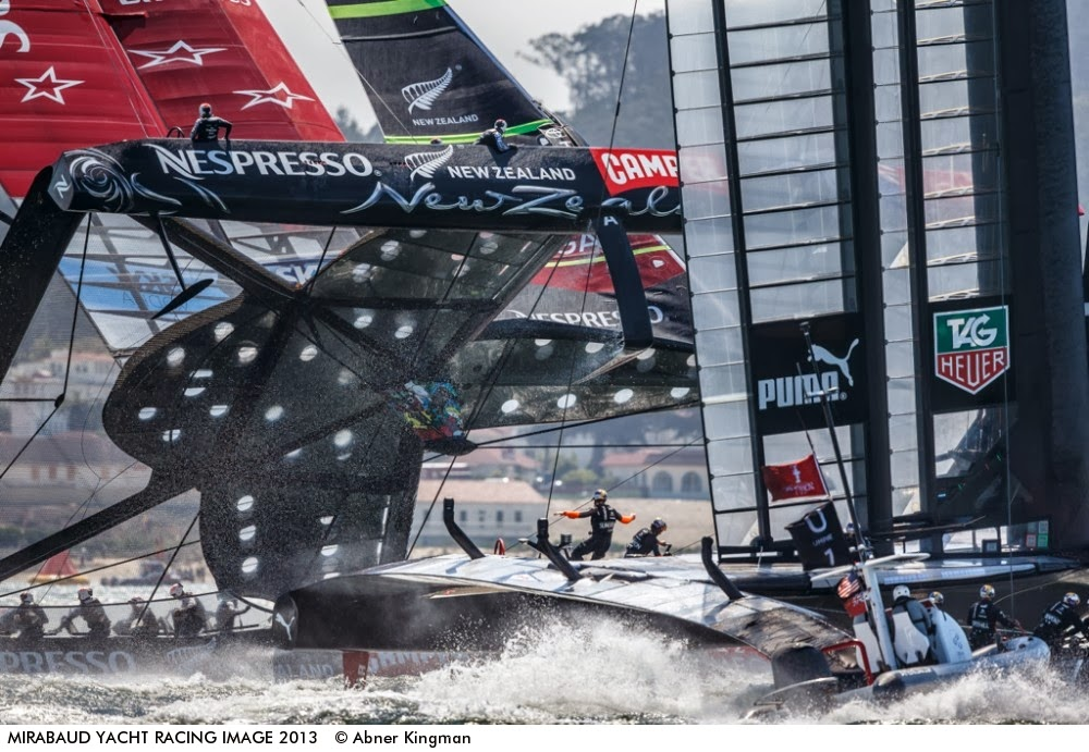 Catamaran Racing, News & Design: 2013 Mirabaud Yacht Racing Image