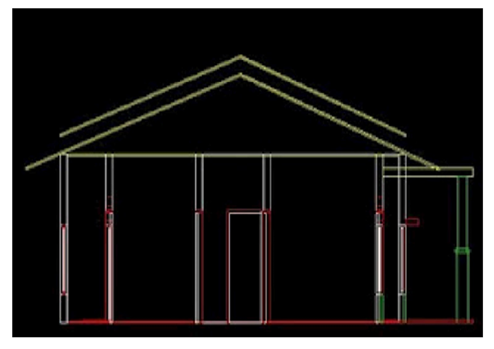 Info Design Creating A 3d Roof With Autocad 2007 And Up