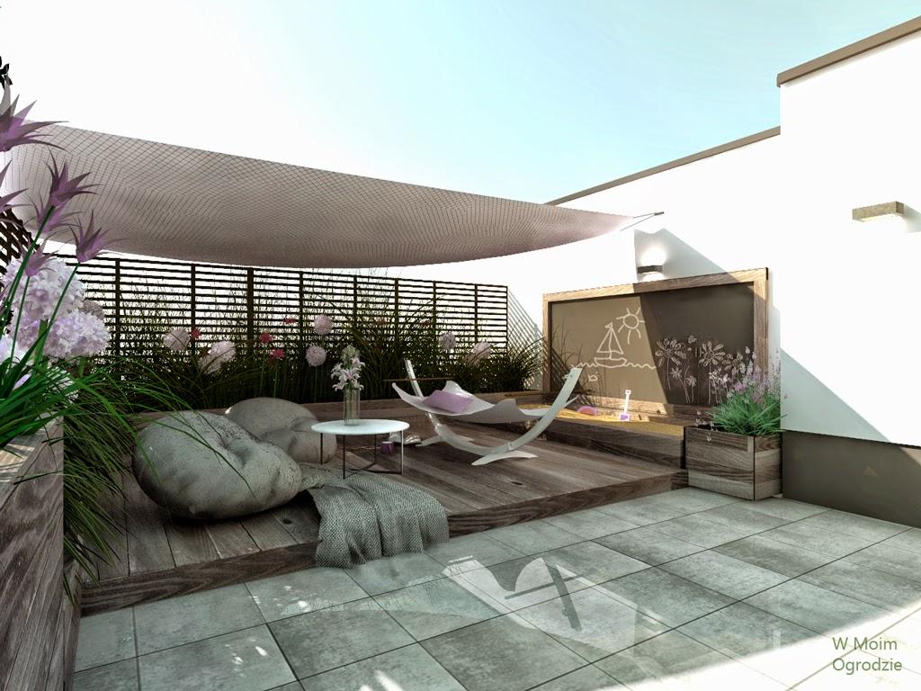 projektowanie ogrodów na dachach warszawa, ogrody na dachach