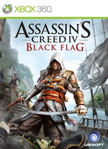 cover xbox360 du jeu assassin's creed black flag