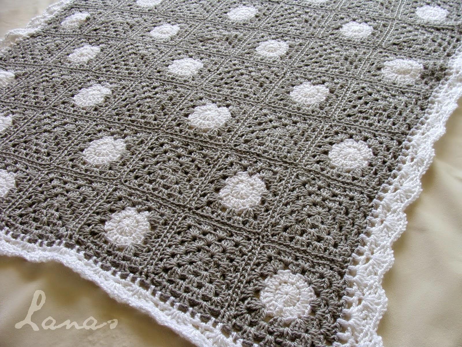 Excepcional Patrones Manta De Crochet Libre Colección de Imágenes ...