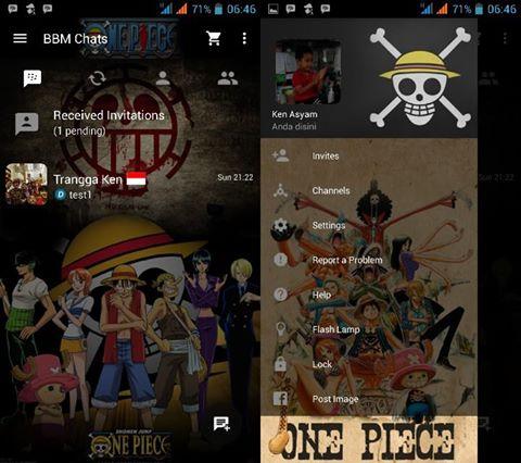 BBM mod one piece