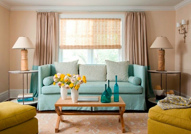 decoracao de sala azul turquesa e amarelo : decoracao de sala azul turquesa e amarelo:Miss Florinda: I love it: Turquesa e amarelo