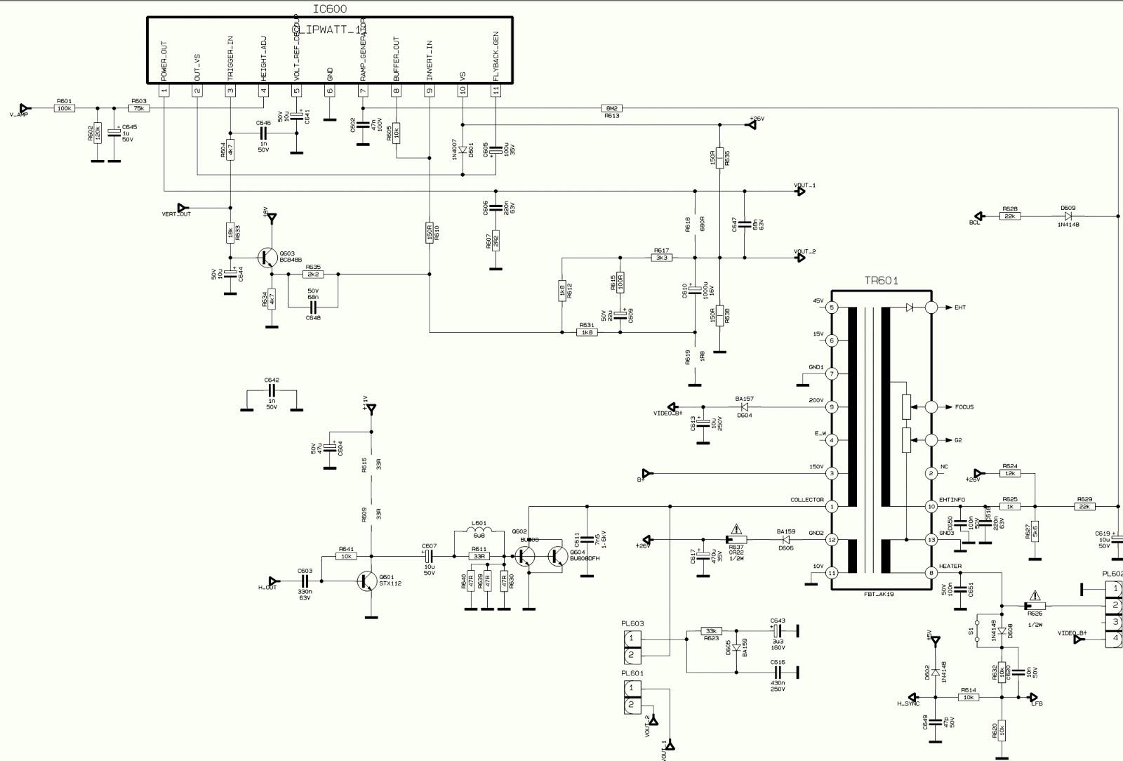Vestel vr3711ts схема 11ak36a15