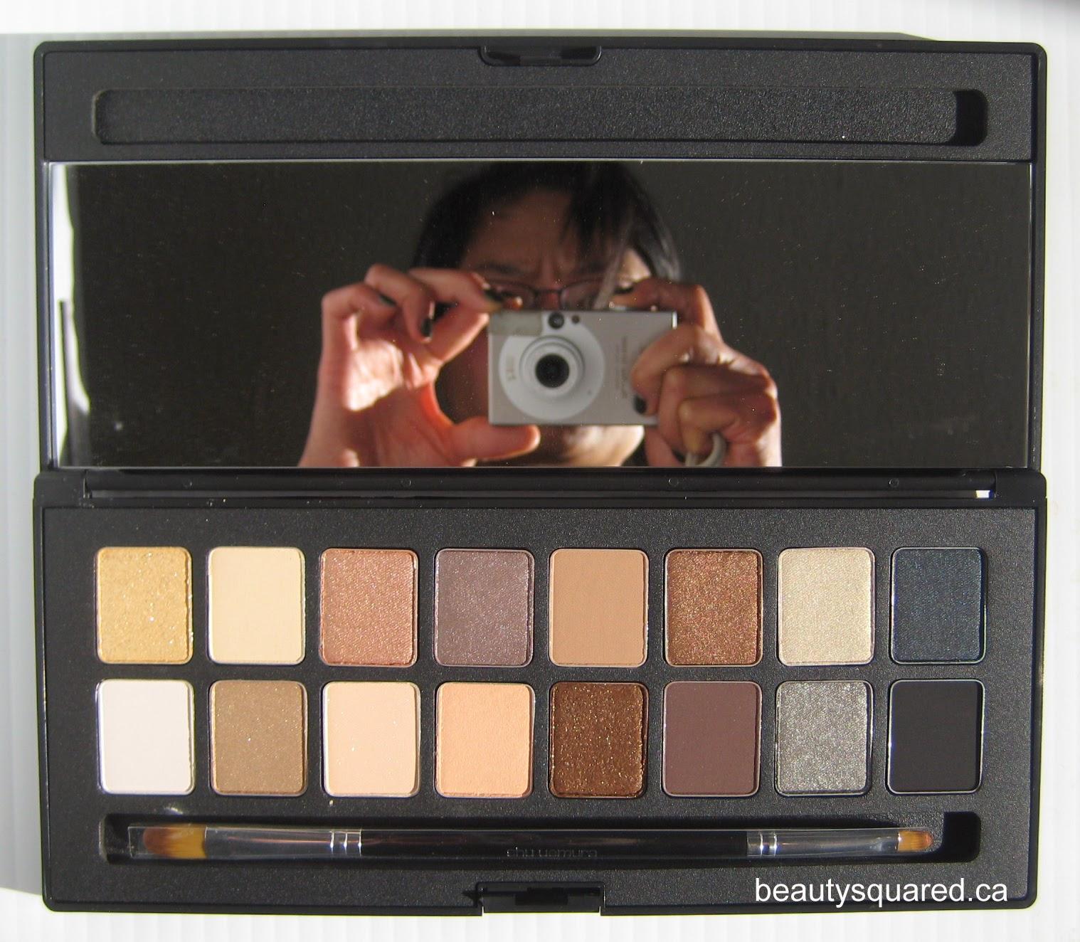 MAKEUP LOOK | Shu Uemura shu:palette 16 Shades of Nude