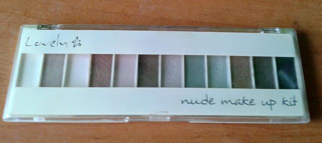 Lovely Nude Makeup kit - paletka cieni w odcieniach nude. Tanie, ale czy dobre?