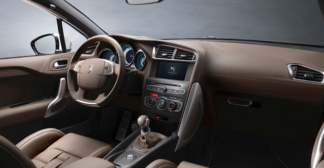 Interior del nuevo Citroen DS4 Hatchback 2016