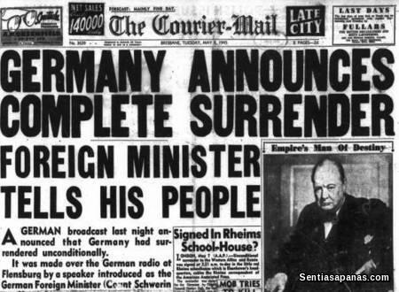 World War 1 - Germany Surrender