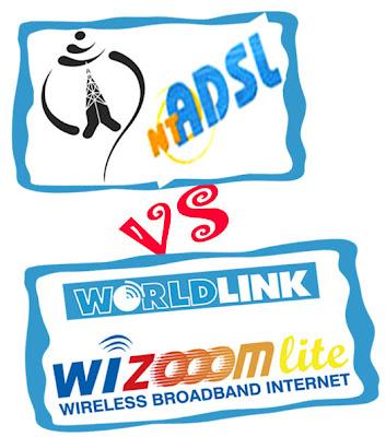 NTC's ADSL VS WorldLink's DSL