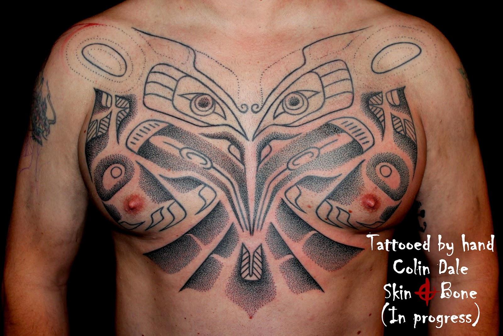 skin bone artistic process haida and nordic god tattoos. Black Bedroom Furniture Sets. Home Design Ideas