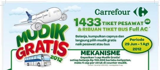 Info Mudik Gratis 2012 | Promo Mudik Lebaran Gratis 2012