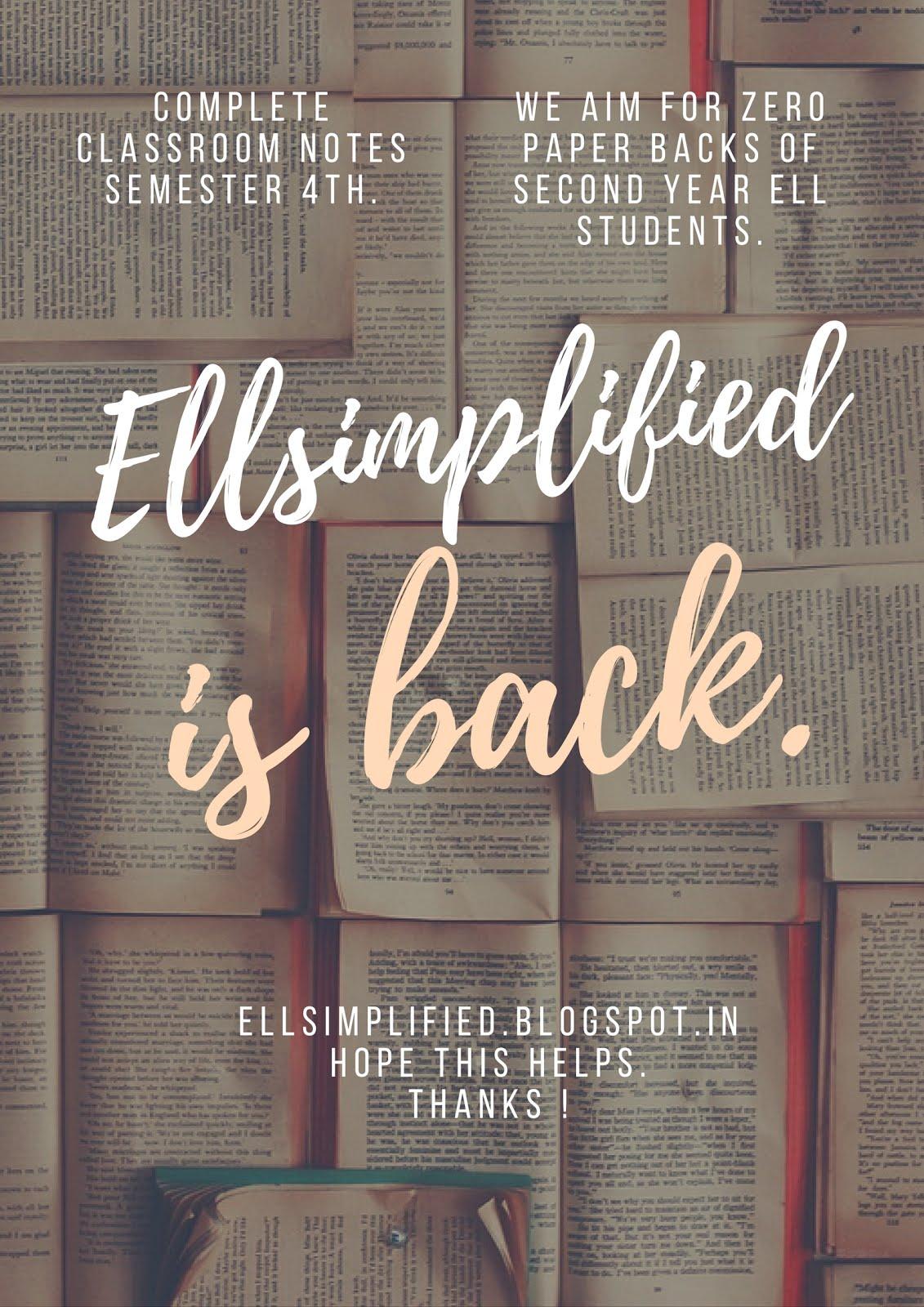 ell simplified essays udita ma am ell simplified