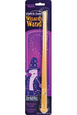 wizard's wand toy