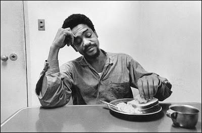 Black Panther Party co-founder Bobby Seale having breakfast