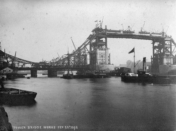Tower Bridge, c.1893