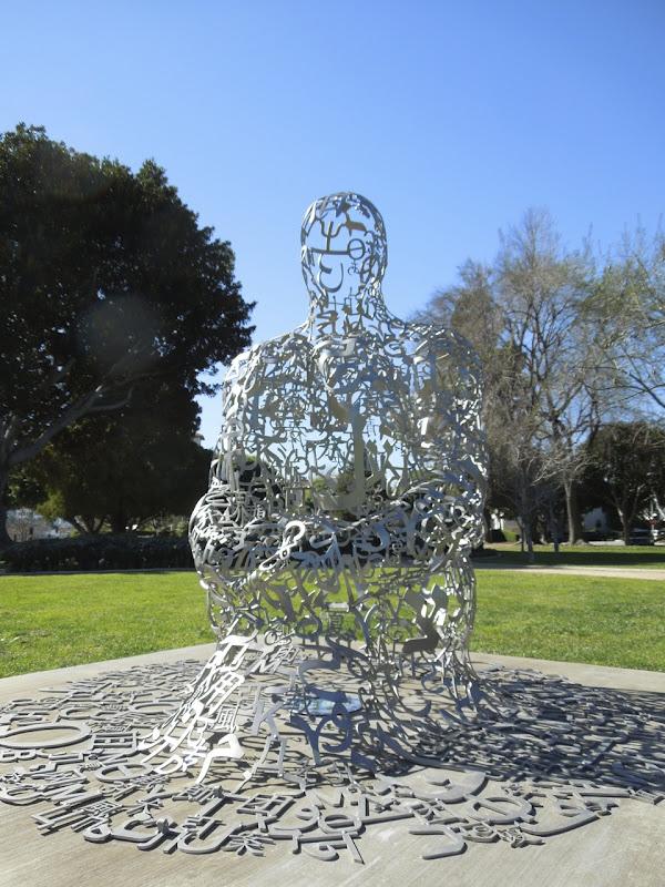 Endless V sculpture Beverly Hills