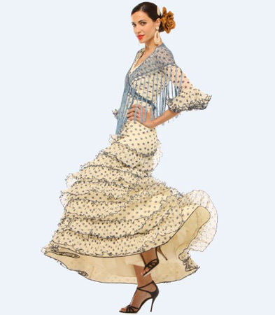 El Corte Inglés trajes de flamenca 2013