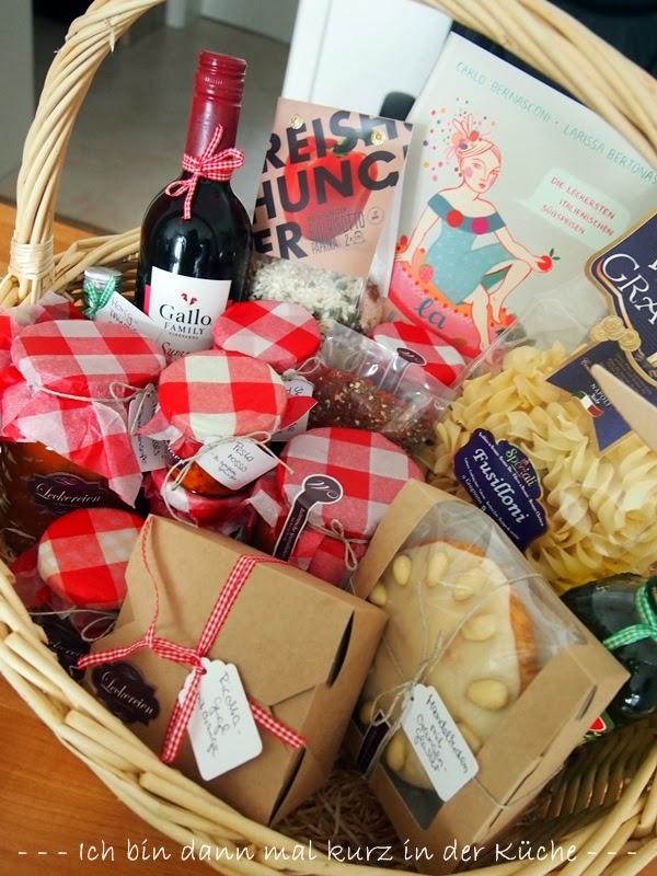 Ein neuer italienischer Geschenkkorb - Teil 1 | Ich bin dann mal ...