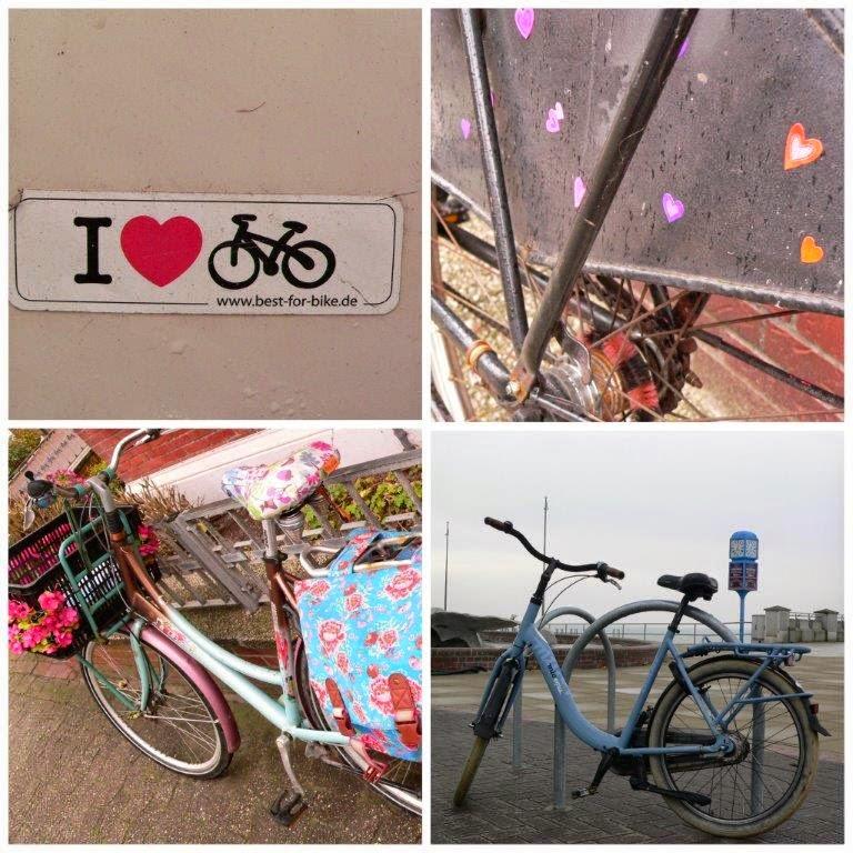 Wochenende Winter Urlaub Insel Fahrrad