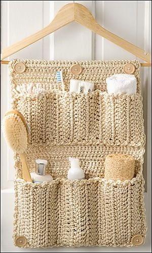 Ideas para el hogar a ganchillo patrones crochet - Accesorios hogar originales ...