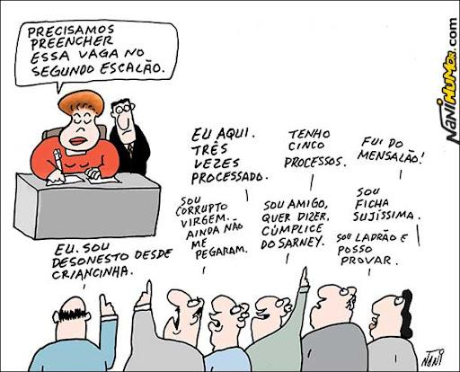 Nomear é fácil. Dilma preenche vaga no segundo escalão