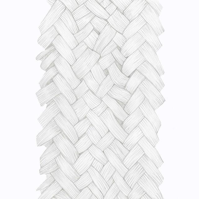 dibujo matriz, trenzado de fibras, estera esparto, cruzada, dibujo