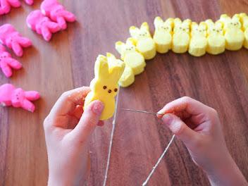 Easter Peeps Bunting