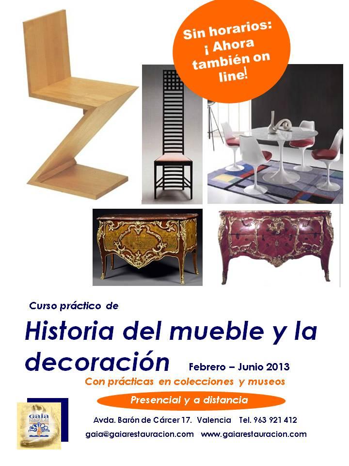 Nuevo curso de historia del mueble y la decoraci n ahora for Historia del mueble pdf