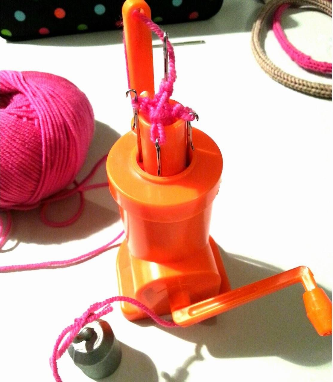 Réparer tricotin
