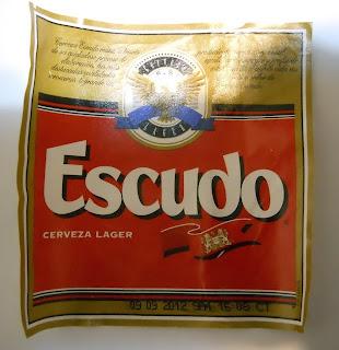 cerveza latina escudo tipo lager