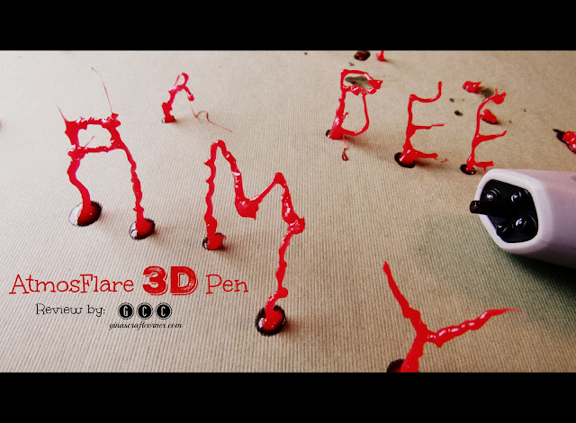 AtmosFlare 3D Drawing Pen Review by Gina's Craft Corner