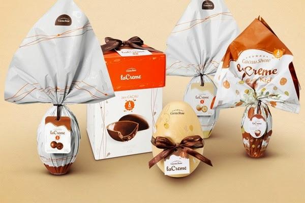 Cacau Show chocolate linha Lacreme Páscoa