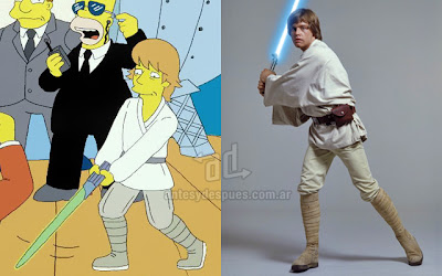 Mark Hamill Luke Skywalker simpsons artis+kartun Tokoh tokoh selebriti dalam serial kartun The Simpson