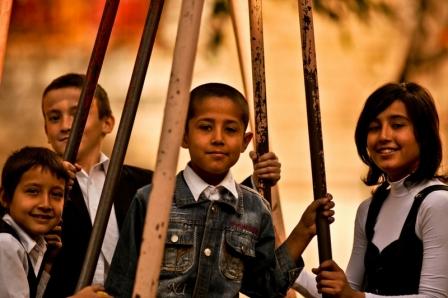 Anak-anak Uzbekistan