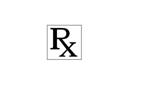 Health Is Wealth Unlimited Prescription Symbol