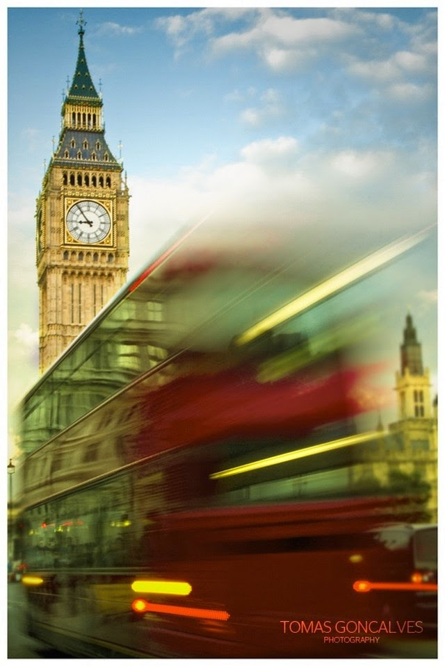 big ben red bus london