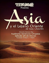 La Troupe del Teatro Andante, celebra su 2do. Aniversario, homenajeando a Isaac Chocron