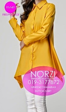 NBH0242 DHAMIRAH BLOUSE (NURSING FRIENDLY)