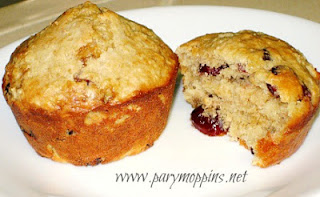 Hearty Oat Muffins