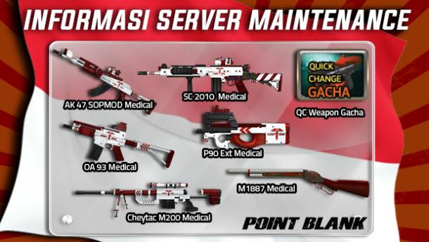 Mulai Besok, Point Blank Garena Indonesia Sediakan Quick Change