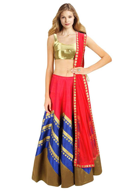Designer Fancy Attractive Indian Traditional Look New Lehenga Choli