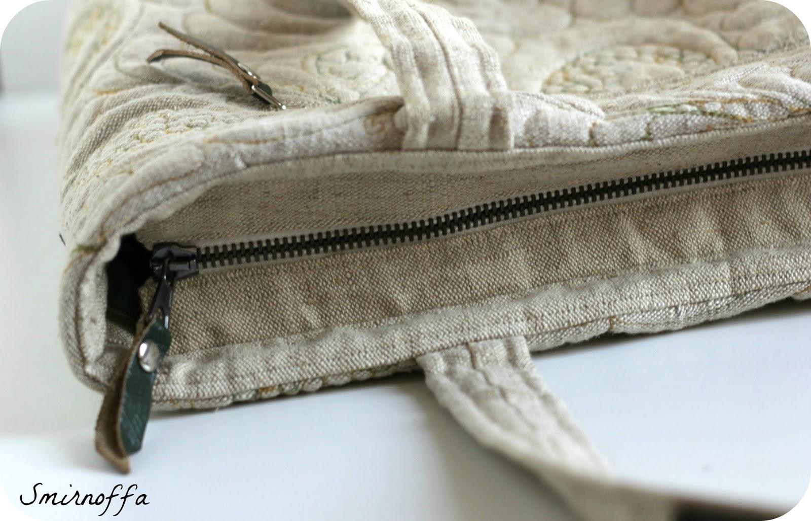 Прорезной карман в рамку
