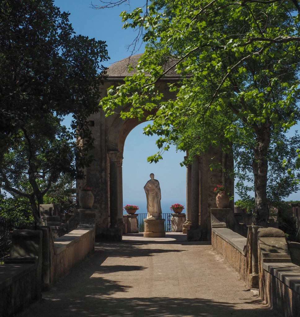 Italy The Gardens Of Villa Cimbrone The Best View In