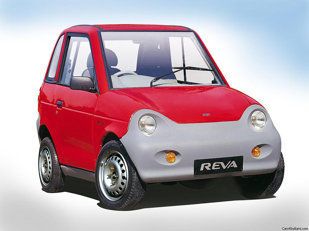 Reva Electric Car Images