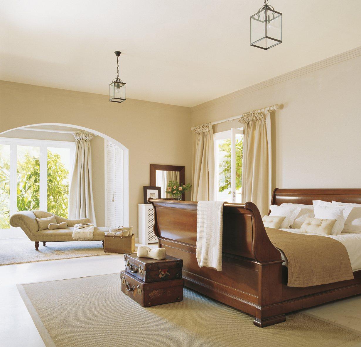 Un dormitorio en tonos beiges y marrones - Mueble de habitacion ...
