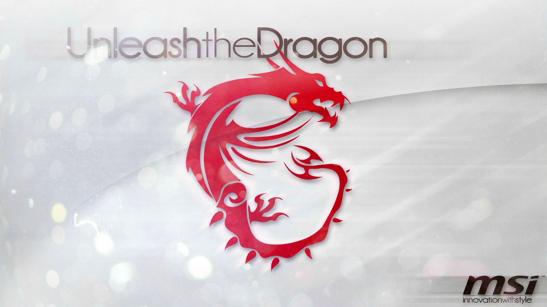 Msi Red Dragon Logo Hd 1920x1080 1080p