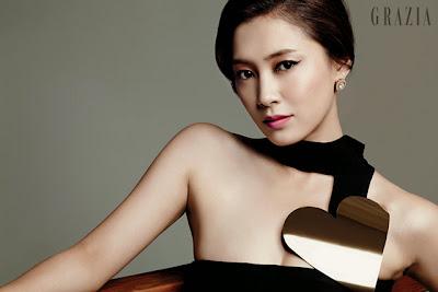 Nam Sang Mi - Grazia Magazine October Issue 2013