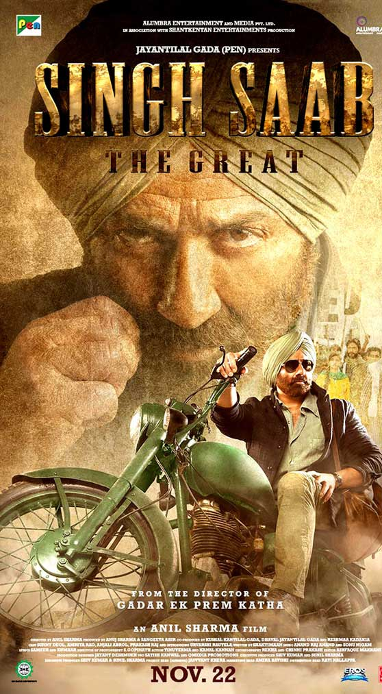Singh Sahab The Great First Look